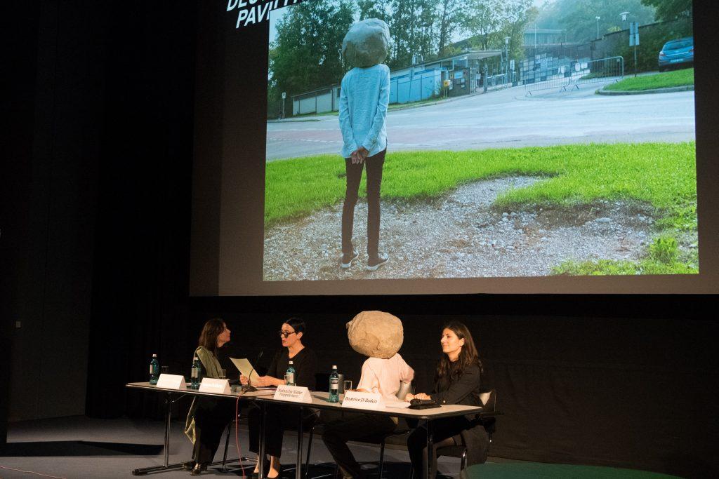 Pressekonferenz 25.10.2018, Vorstellung der künstlerischen Position, Zeughauskino, Berlin (Foto ©Stefan Fischer) (2)