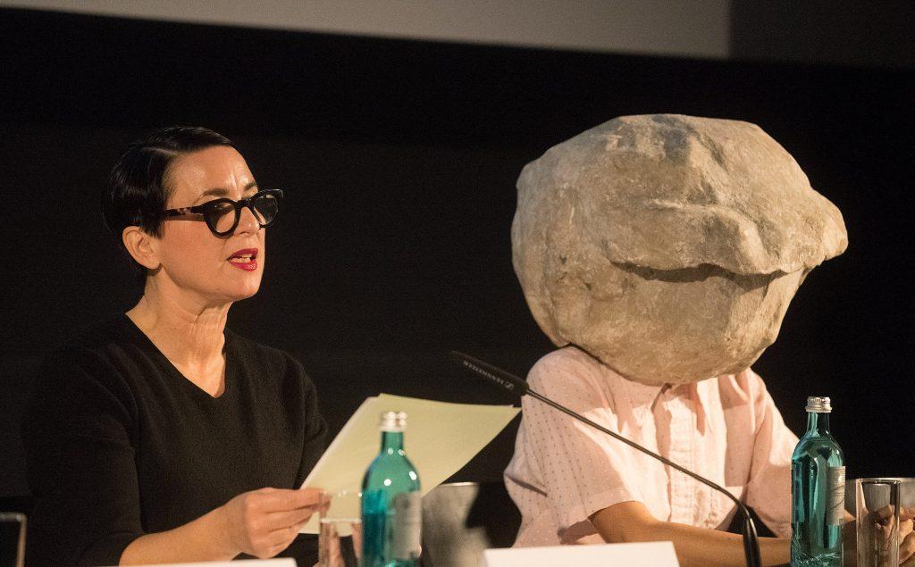Vorstellung der künstlerischen Position, Natascha Süder Happelmann, Deutscher Pavillon 2019, La Biennale di Venezia, Foto- ©Stefan Fischer-005