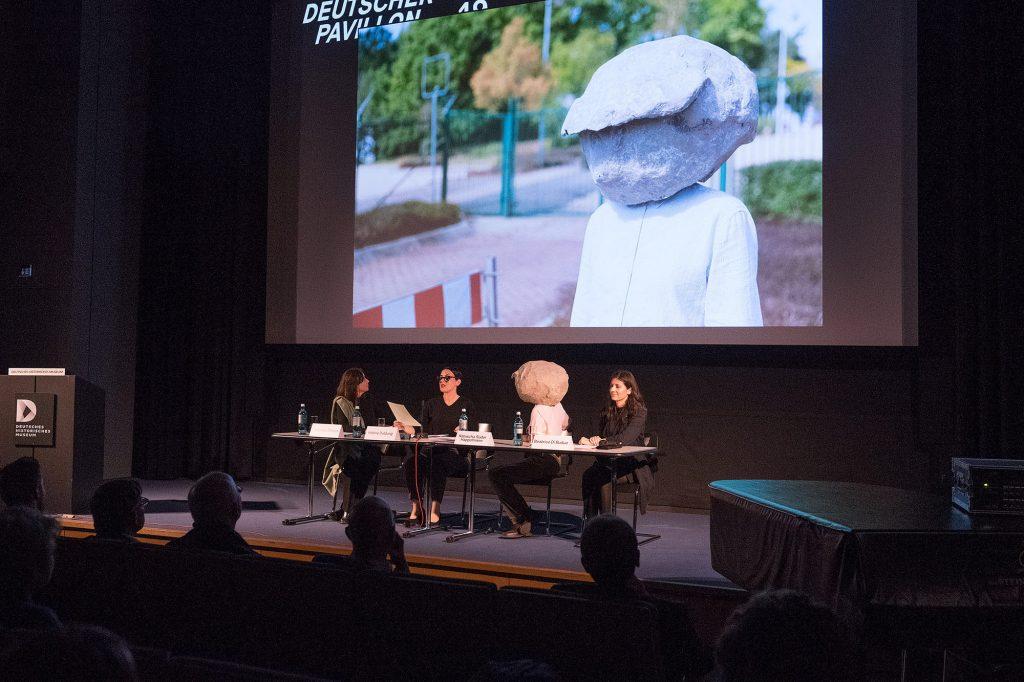 Vorstellung der künstlerischen Position, Natascha Süder Happelmann, Deutscher Pavillon 2019, La Biennale di Venezia, Foto- ©Stefan Fischer-007
